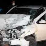 Antalya'da 3 aracın karıştığı kaza: 4 yaralı