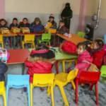Diyanet Suriye'nin El Bab kentinde 4-6 yaş Kur'an kursu açtı