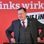 Eyalet Başkanı Merkel'le toplantıdayken Candy Crush oynadı