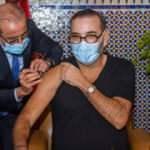 Fas'ta ilk Kovid-19 aşısı Kral 6. Muhammed'e yapıldı