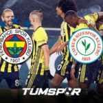 Fenerbahçe Rizespor maçının geniş özeti ve golleri!