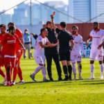 Ümraniye - Samsun maçında tarihi fair play hareketi!