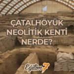Tarihin ilk modern şehri Çatalhöyük nerede? Çatalhöyük'te şehircilik ve hayvancılık...