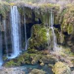 """Türkiye'nin doğa harikası """"Yerköprü Şelalesi"""""""