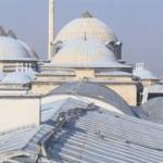 Topkapı Sarayı'nın en eski yapılarından olan Fatih Köşkü 1500 tonluk beton yükünden kurtuluyor