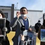 Ailelerinden haber alamayan Uygur Türkleri, Çin'in Ankara Büyükelçiliği önünde eylem yaptı
