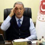 Bakan Akar, Türk-Rus Ortak Merkezi'nde görevli Türk generalle görüştü