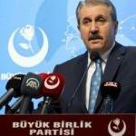 BBP lideri Destici'den 'Boğaziçi' açıklaması!