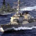 Büyük gerginlik! ABD savaş gemisi bölgeye girdi