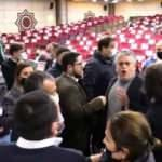 Belediye Meclisi'nde 'Boğaziçi' gerginliği: Çerçi'den provokatöre ayar