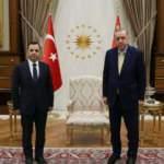 Başkan Erdoğan, AYM Başkanı Arslan'ı kabul etti