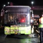 Kocaeli'de halk otobüsü yangını söndürüldü