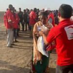 Türk Kızılay'dan Sudan'daki Etiyopyalı sığınmacılara gıda yardımı