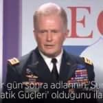 ABD'li komutan YPG'nin adının değiştirildiğini böyle itiraf etmişti