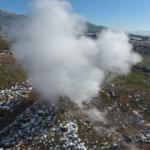 Ulus Dağı'nın eteklerinde kaplıca, zirvesinde kar keyfi