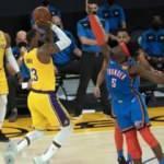 Lakers, Thunder'ı uzatmada yendi