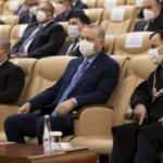 Erdoğan, İrfan Fidan'ın yemin törenine katıldı