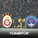 Galatasaray Kasımpaşa maçı yoğun kar yağış nedeniyle ertelenecek mi? | TFF' den önemli açıklama