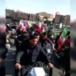 İran'da devrim kutlamaları karıştı! 'Kahrolsun Ruhani' sloganları atıldı