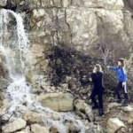 Manisa'da gizemli şelale görenleri şaşırtıyor