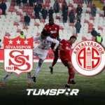 Sivasspor Antalyaspor maçı ne zaman, saat kaçta, hangi kanalda? | Sivas Antalya muhtemel 11'ler
