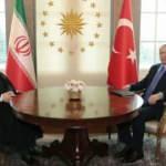 Başkan Erdoğan, Hasan Ruhani ile görüştü