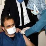 Çankırı Valisi Ayaz, Kovid-19 aşısının ilk dozunu yaptırdı