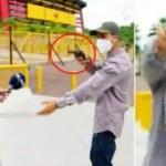 Ekvador'da muhabir canlı yayın sırasında soyuldu