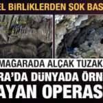 Özel birliklerden şok baskın! Gara'da eşi benzeri olmayan operasyon! Mağarada hain tuzak