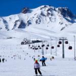 Kış turizminin gözde merkezi adrenalinin zirvesini yaşatıyor