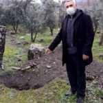 Osmaniye'de defineciler 200 yıllık tarihi mezarı kazdılar!