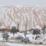 Kar yağdı, tablo gibi fotoğraflar ortaya çıktı