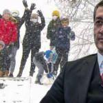 Son dakika: İstanbul dahil onlarca ilde yüz yüze eğitime kar engeli