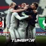 Beşiktaş Denizlispor BeIN Sports geniş özeti ve golleri | Kara Kartal 3 puanı 3 golle aldı!