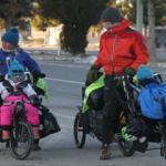 Bisikletleriyle dünya turuna çıktılar, Beyşehir'de mola verdiler!
