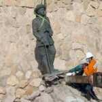 Diktatör Franco'nun son heykeli de kaldırıldı