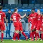 Leipzig deplasmanda Hertha Berlin engelini rahat geçti