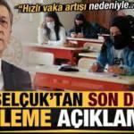 Ziya Selçuk'tan son dakika erteleme açıklaması: Hızlı vaka artışı nedeniyle...