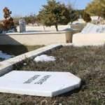 Onlarca mezar taşını tahrip etti, nedenini kimse anlamadı