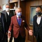Bayrampaşa Belediye Başkanı Aydıner'den Kanal7 Medya Grubu'na 'hayırlı olsun' ziyareti
