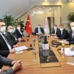 Kulüpler Birliği yöneticileri, Mehmet Nuri Ersoy ile görüştü