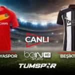 Malatyaspor Beşiktaş maçı canlı izle! | BeIN Sports Malatya BJK maçı şifresiz canlı skor takip
