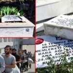 Şehitlerin mezarlarına zarar verilmesiyle ilgili önemli gelişme