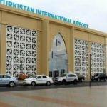 Türkistan'dan ilk uluslararası uçak seferi Türkiye'ye