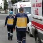 14 Mart Tıp Bayramı'nda skandal görüntü! Sağlık çalışanlarına saldırdı...