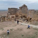 3 bin yıllık Zerzevan Kalesi'nde çalışmalar devam ediyor