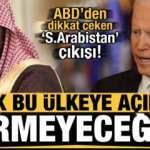 ABD'den dikkat çeken Suudi Arabistan açıklaması: Artık bu ülkeye açık çek vermeyeceğiz...