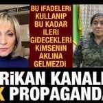 Amerikan NBC televizyonundan PKK/YPJ propagandası