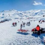 Denizli Kayak Merkezi yeniden kayakseverlerle buluştu