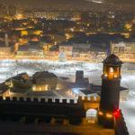 """Doğu'nun """"kış cenneti"""" gündüz bembeyaz, gece ise ışıl ışıl"""